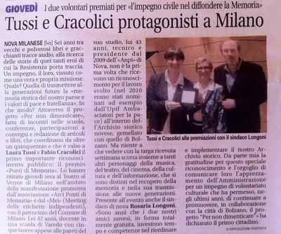 Premio per l'impegno civile Mei - Meeting Etichette Indipendenti, Associazione Arci Ponti di memoria e Città di Milano, presso il Teatro Dal Verme di Milano, Aprile 2015