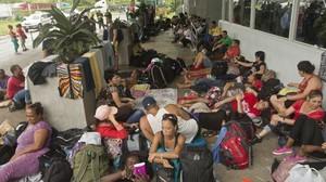Frontiera costaricana (Foto AP)