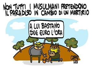 Il paradiso dei musulmani