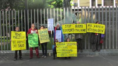 Rete No War in presidio davanti alla RAI