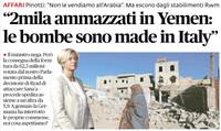 La Pinotti, l'Onu e le bombe italiane sui civili yemeniti