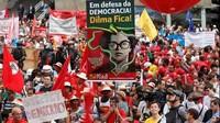 Brasile: movimenti sociali in piazza per Dilma e la democrazia