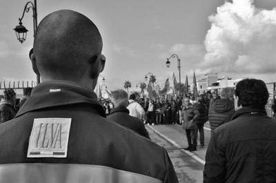 operai Ilva in sciopero