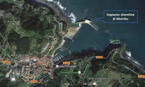 Impianto shoreline di Mutriku  (Spagna, Paesi Baschi)