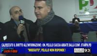 Solidarietà al giornalista Luigi Abbate mandato via dalla conferenza stampa del PD Taranto