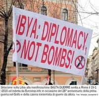 Libia: la piazza chiede diplomazia; la Germania chiede le bombe –  e l'Italia, chi ascolterà?