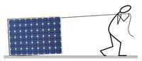 Che fatica questo modulo fotovoltaico!