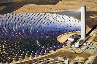 Impianto PS10 (11 MW), Siviglia