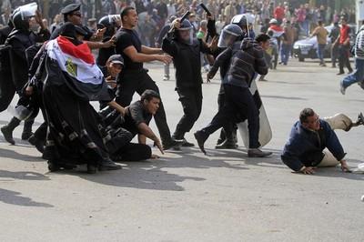 Egitto scontri Polizia