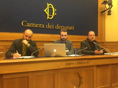 Enrico Maria Borrelli, Francesco Vignarca, Mao Valpiana