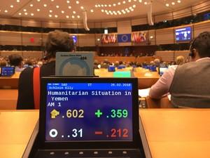 Parlamento Europeo Vota Embargo armi Arabia Saudita