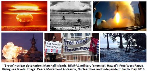 """Il test nucleare """"Bravo"""" e altre detonazioni sull'area del Pacifico"""