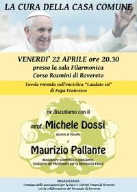 La cura della casa comune - 22 aprile - con Maurizio Pallante