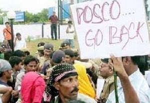 Protesta contro la Posco