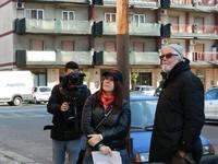 Con il direttore della fotografia Blasco Giurato