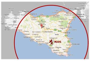 Localizzazione del MUOS