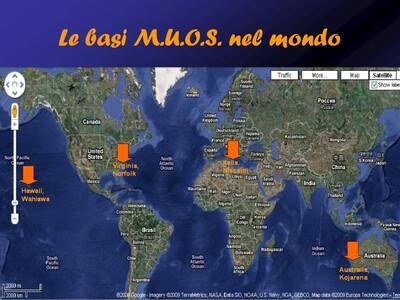 Le basi del sistema satellitare militare MUOS gestito dagli Stati Uniti