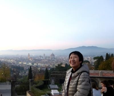 arrivo a Firenze