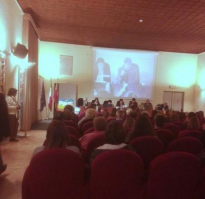 Foligno incontro pubblico al Palazzo Trinci 09.11.2015