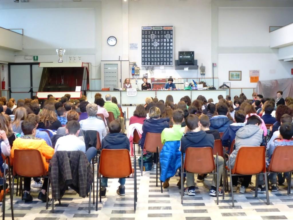 Vinci con gli studenti delle medie 11.11.2015