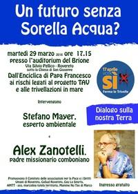Alex Zanotelli, acqua e trivellazioni - martedì 29 mar