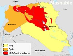 Califfato dell'ISIS, giugno 2014