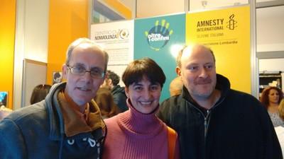 Al Centro di Nonviolenza di Milano con Olivier Turquet e Fabrizio Cracolici