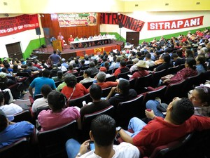 "Assemblea dell'Articolazione ""Berta Cáceres"" (Foto G. Trucchi | LINyM)"