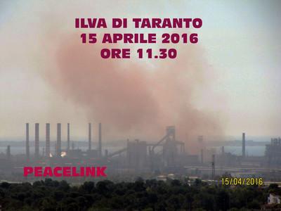 Slopping: emissione non convogliata proveniente dagli impianti dell'Ilva di Taranto