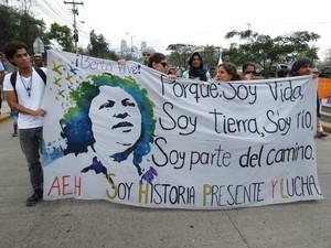 Manifestazione a Tegucigalpa (Foto G. Trucchi | Rel-UITA)