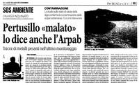 Bioaccumulo anomalo in alcuni alimenti della Basilicata e criticità nel lago Pertusillo