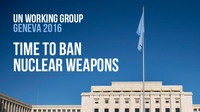Ginevra - ESIGIAMO! L'abolizione delle armi nucleari! di Alfonso Navarra