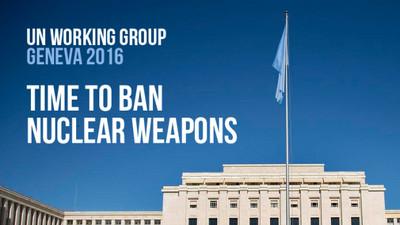 Ginevra - Esigiamo! L'abolizione delle armi nucleari