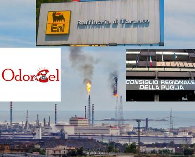 Le emissioni della raffineria Eni di taranto