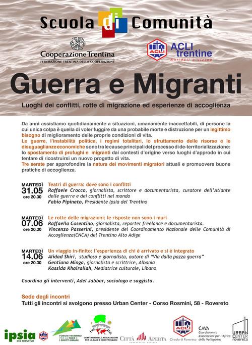 Guerre e migranti 2016