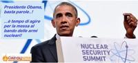 Obama ad Hiroshima: occasione per liberare il mondo dalle armi nucleari