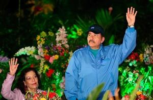 Il presidente Ortega durante il Congresso sandinista (Foto CCC)