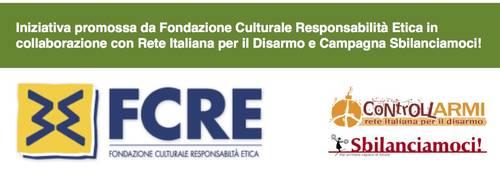 Fascia promotori - Le armi Italiane nel mondo: destinazioni pericolose o rispetto della legge?