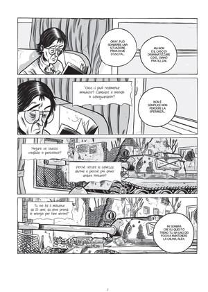 """Tavola tratta da """"In fondo alla speranza – ipotesi su Alex Langer"""", grafic novel su Alexander Langer pubblicata nel settembre 2013  Questa la pagina facebook https://www.facebook.com/infondoallasperanza/"""