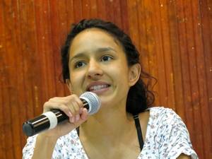 Bertha Zúniga Cáceres (Foto G. Trucchi | Rel-UITA)