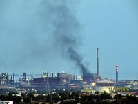 Confermato incendio big bag ILVA