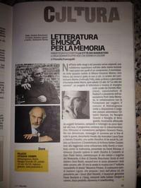 Letteratura e Musica per la Memoria - su TUTTO MILANO di Repubblica