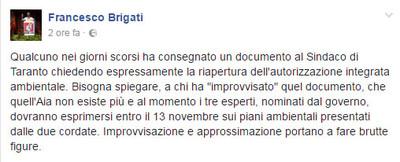 il post di Francesco Brigati