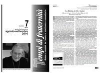 Tempi di Fraternità - La Bibbia di De André