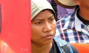 Manifestazione Copinh a La Esperanza (Foto G. Trucchi | Rel-UITA)