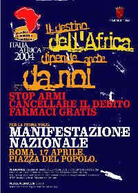 Il Manifesto di ItaliaAfrica 2004