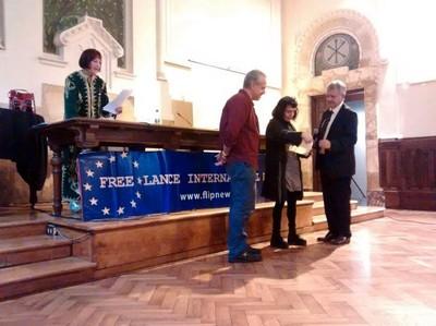 Premiazione Pressenza, Premio Diritti Umani 2016 (Foto di Magalì Buj)