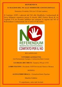 Le ragioni del NO alla riforma costituzionale - con Vittorio Agnoletto, Lucrezia Ricchiuti, Loris Maconi, Alessandro Braga