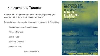 4 NOVEMBRE - in videoconferenza con TARANTO