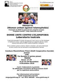 Donne unite contro l'islamofobia